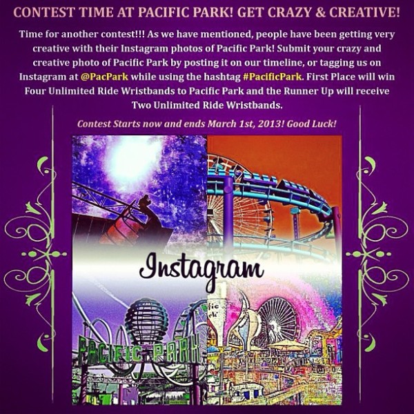Get Crazy & Creative Instagram Contest